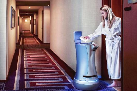 Luxuswohngebäude stellt Roboterbutler ein